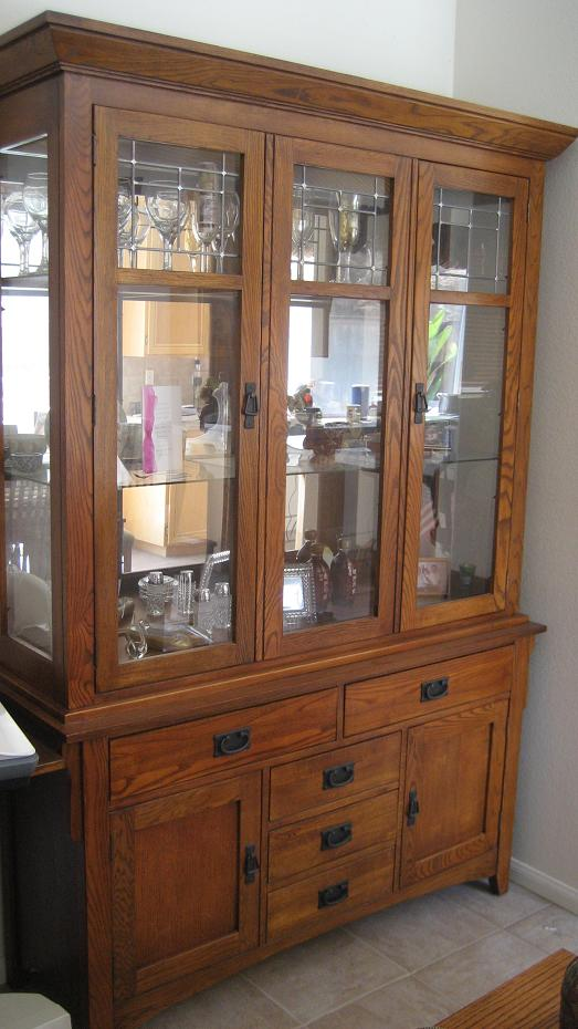 Superb Sideboard And China Cabinet Jpg. Bassett Furniture Mission Style China  Cabinet Centerfordemocracy Org